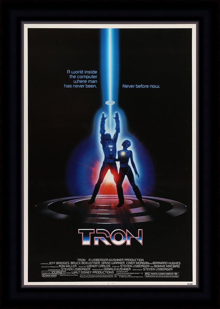 TRON_30_x_40_Movie_Poster_-_Framed_defaultbody